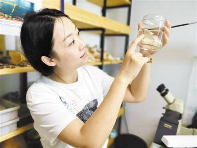 """副研究员玩骨头成""""网红"""":科普古生物必须要酷"""