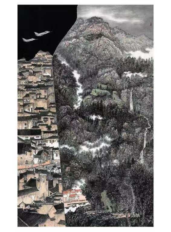 衡水市一画家作品入选第十四届全军美展