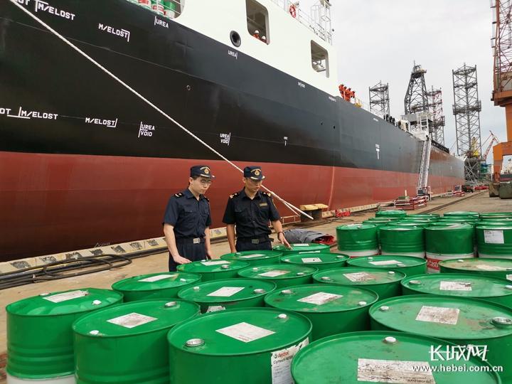山船重工建造的第100艘船驶离秦皇岛