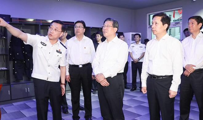 王东峰到保定市廊坊市调研检查