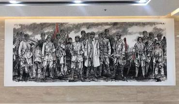 定州市举办庆祝新中国成立70周年书画作品展