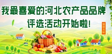"""""""我最喜爱的河北农产品品牌""""评选结果公示"""