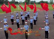 视频|大运河畔快闪,沧州交警唱响《我和我的祖国》