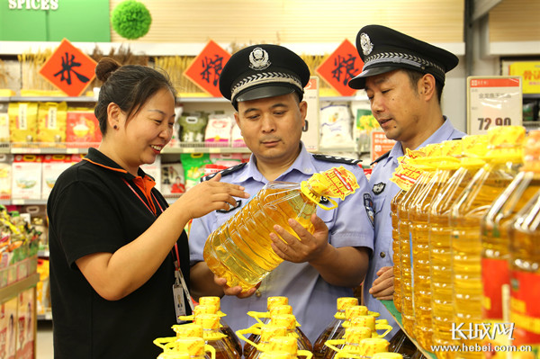 河北永年:严把食品安全关 净化市场迎国庆