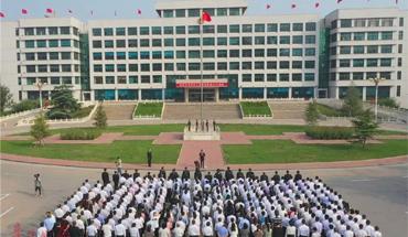辛集舉行慶祝新中國成立70周年升國旗儀式