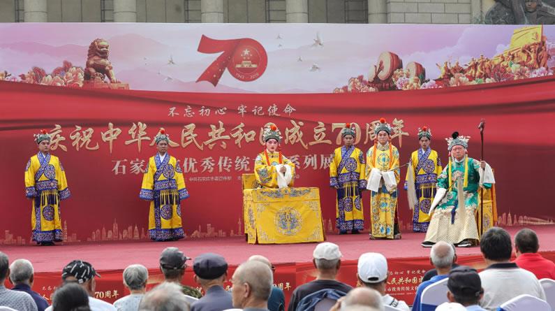 年画 宫灯 石家庄市优秀传统文化系列展演在博物馆精彩上演