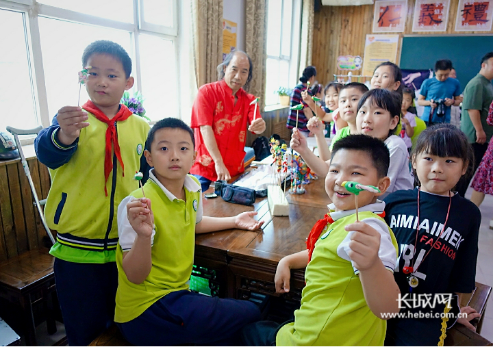 2019年新华区传统文化进校园活动启动