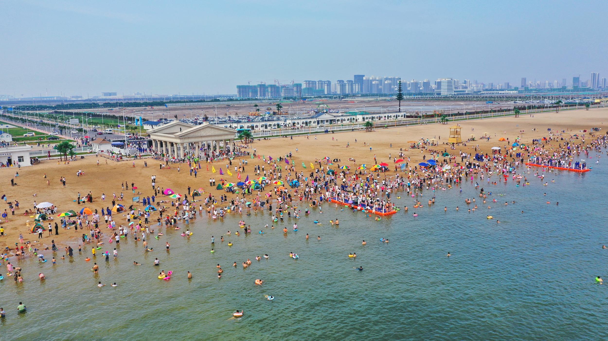 渤海新区全域旅游呈井喷式增长