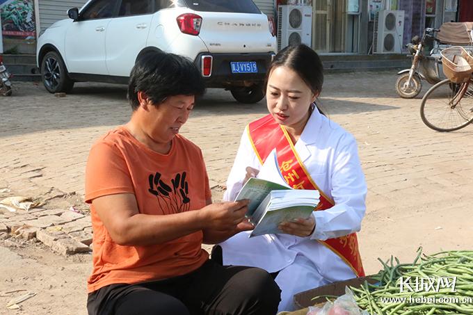 """沧州市传染病医院""""服务百姓健康行动""""走进青县新兴镇"""