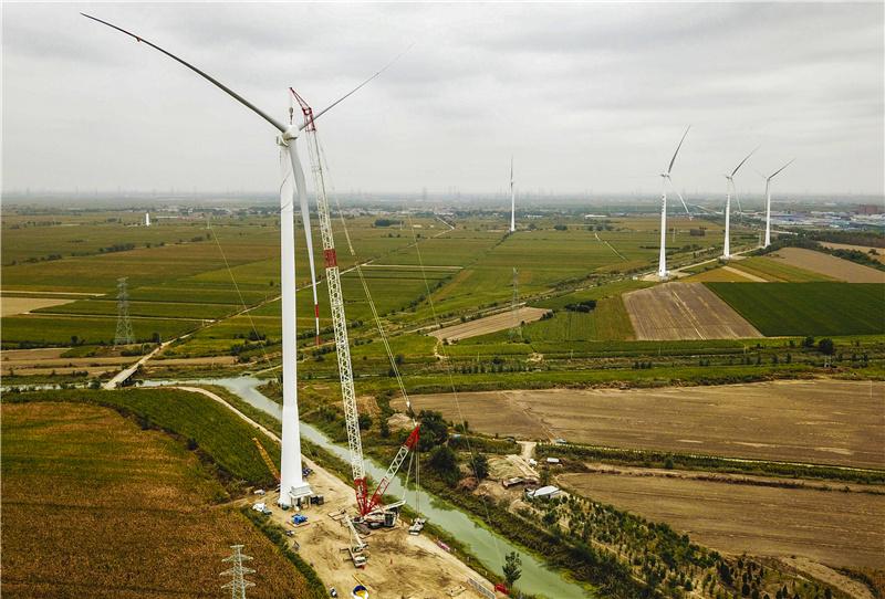 风力发电推动绿色发展