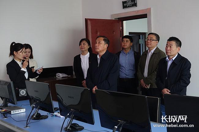 依托冀云 融合创新 刘新宇深入承德县融媒体中心调研时强调
