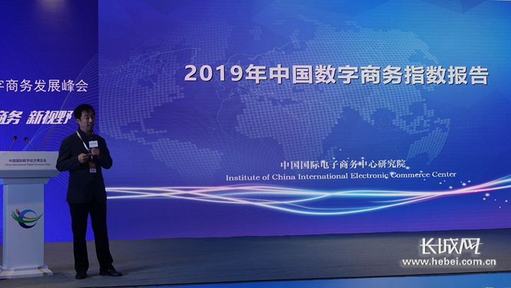 【正定數博會】《中國數字商務發展指數報告》首次權威發布