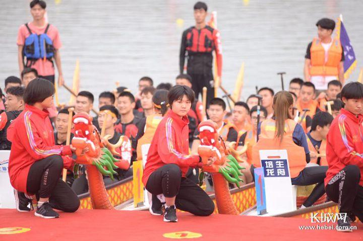 组图|2019石家庄首届龙舟文化节开幕