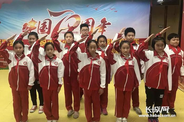 路南实小中国少年先锋队建队70周年主题活动