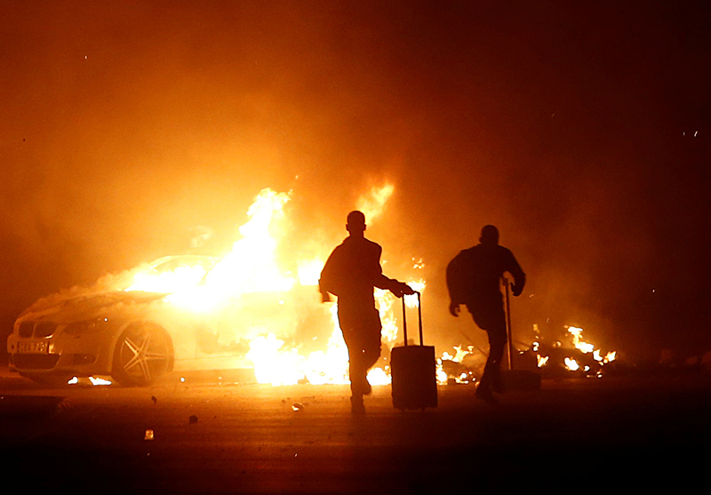 马耳他一处移民营地发生骚乱