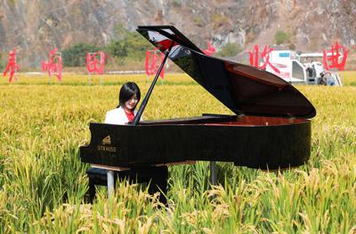 浙江湖州举办第十二届德清洛舍钢琴文化节