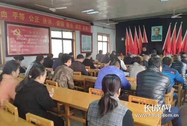 邯郸河西社区:老马带头学 干部马上学