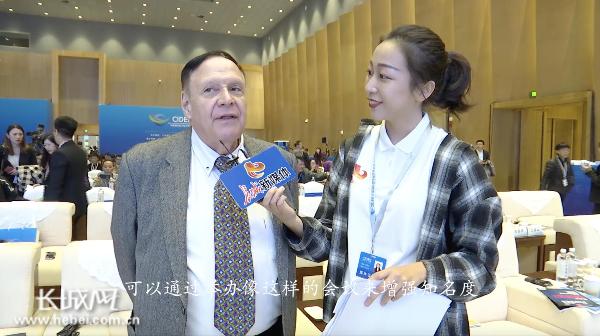 记者专访CGTN评论员哈维·佐丁
