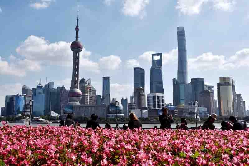 上海迎秋高气爽好天气