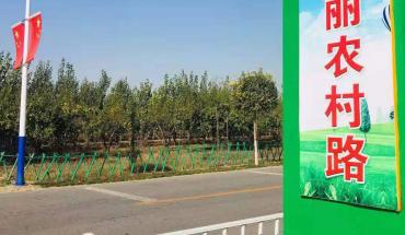 辛集:打造美麗農村路 提升人民幸福感