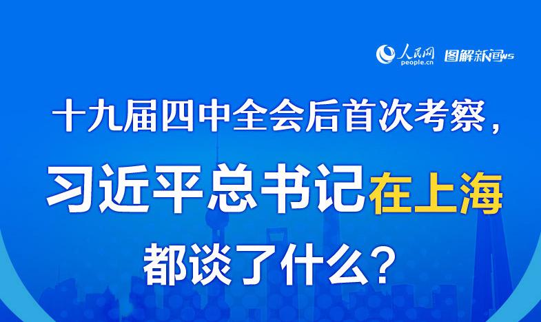 十九届四中全会后首次考察,习近平总书记在上海都谈了什么?