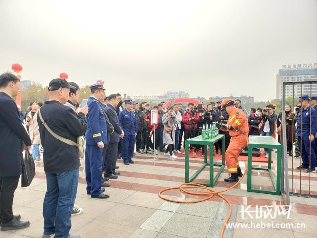 保定舉辦消防宣傳月活動 提高全民消防安全意識