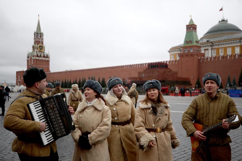 莫斯科即将举行红场阅兵
