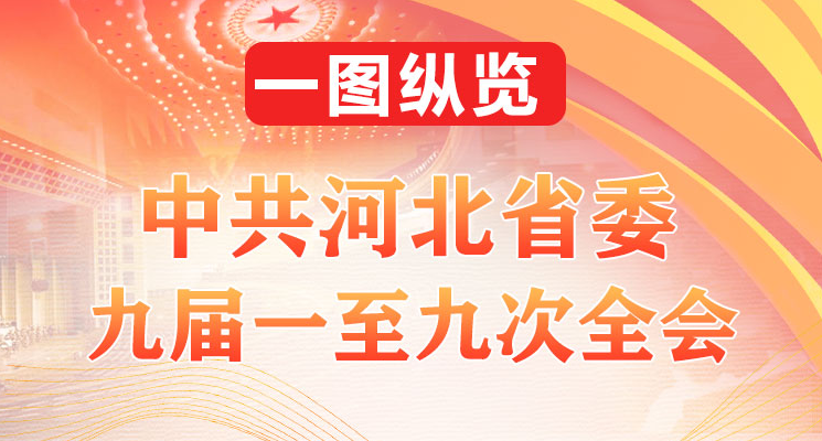 【一圖縱覽】中共河北省委九屆一至九次全會