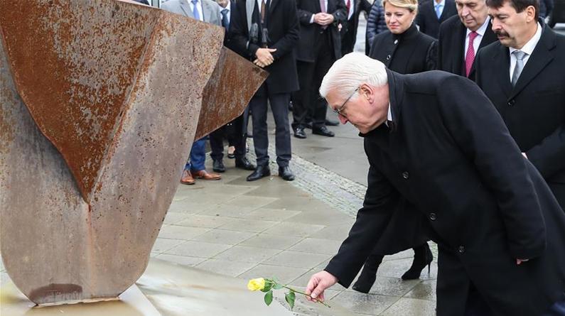 德国纪念柏林墙倒塌30周年