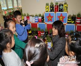 """邢台市第三幼儿园开展""""中国记者节""""主题活动"""