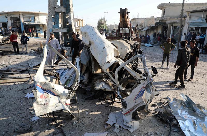 叙利亚北部发生炸弹袭击