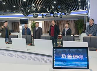 河北省体育局副局长一行到长城新媒体集团洽谈合作事宜