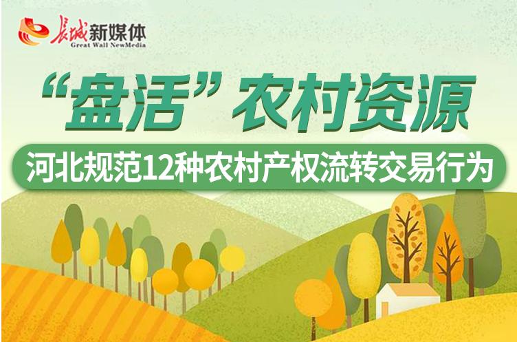 【图解】河北规范12种农村产权流转交易行为