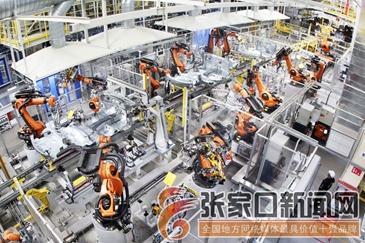 张家口装备制造业发展势头迅猛