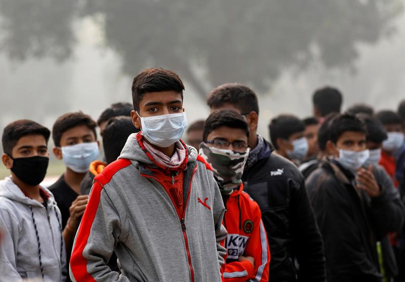 印度首都地区空气污染严重