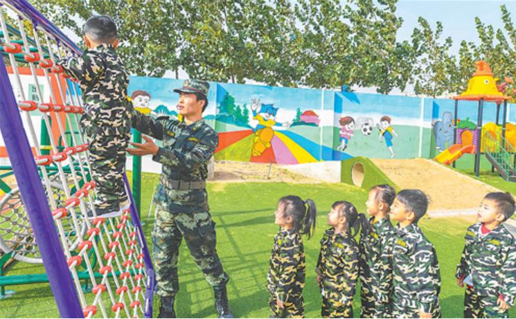 景县:特色体能锻炼 助力孩子成长