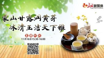 【直播茶博会】蒙山甘露润黄芽 冰清玉洁天下雅