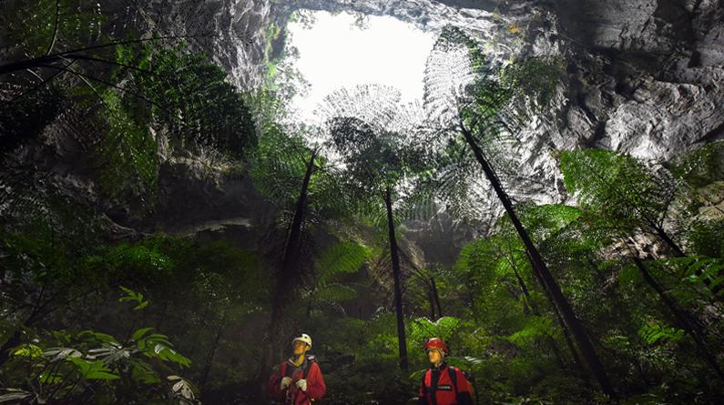 广西边境发现一世界级天坑群