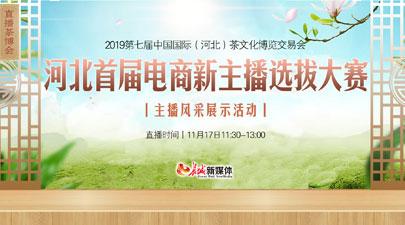河北首届电商新主播选拔大赛主播风采展示活动
