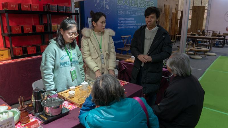 河北茶博会:以茶为媒 助推河北对外文化交流