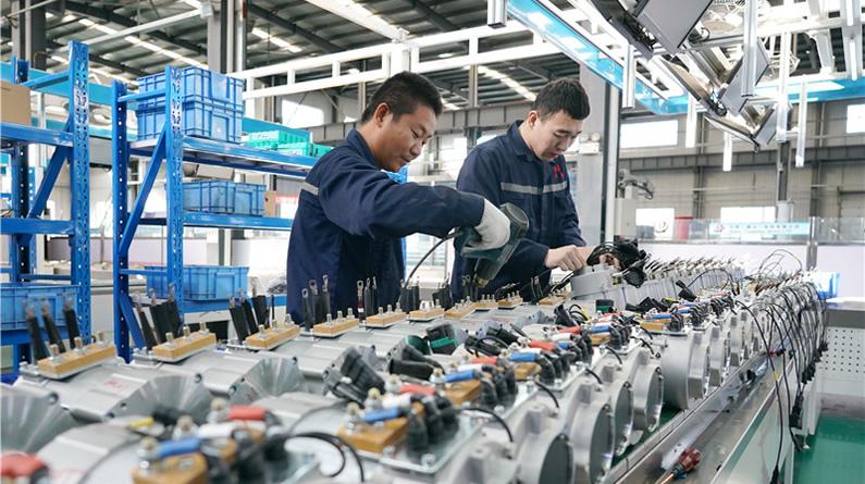 唐山开平:做大支柱产业 助推经济发展