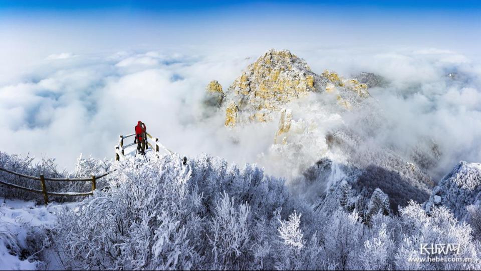 赏雪景雾凇 看云海日出 白石山景区冬季旅游升温