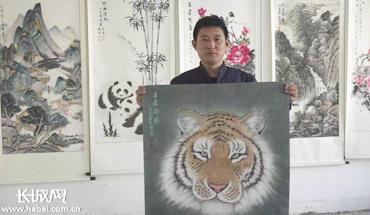 厲害了!晉州營里鎮6000農民寫寫畫畫掙大錢