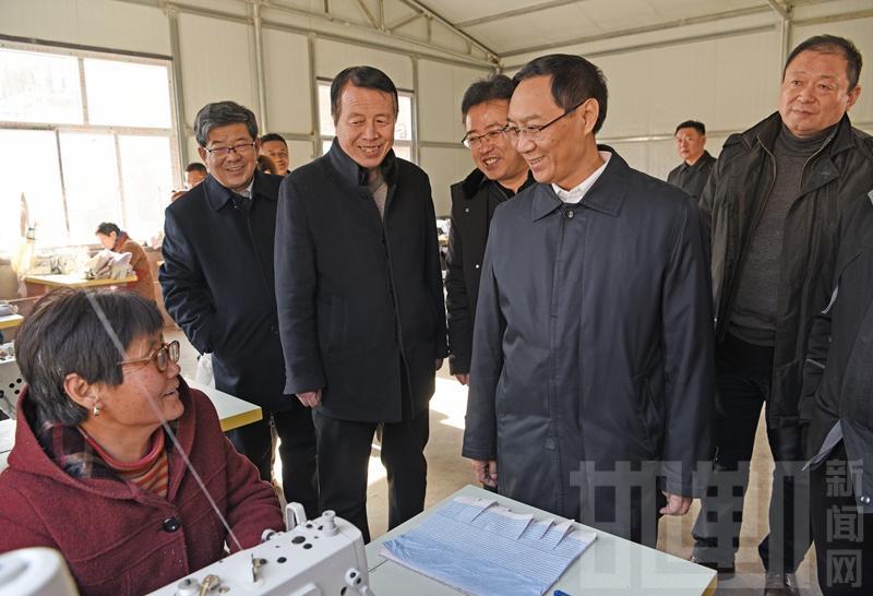 张维亮到涉县检查脱贫攻坚和农村冬季取暖工作
