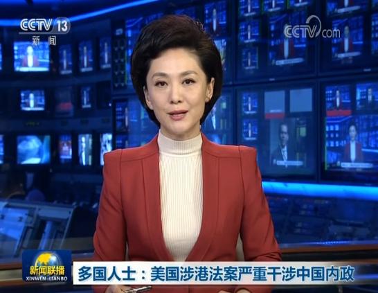 [视频]多国人士:美国涉港法案严重干涉中国内政