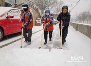今天,张家口全员扫雪!