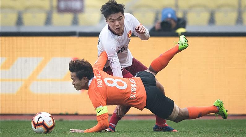 2019中超第30轮:武汉卓尔1-2河北华夏幸福