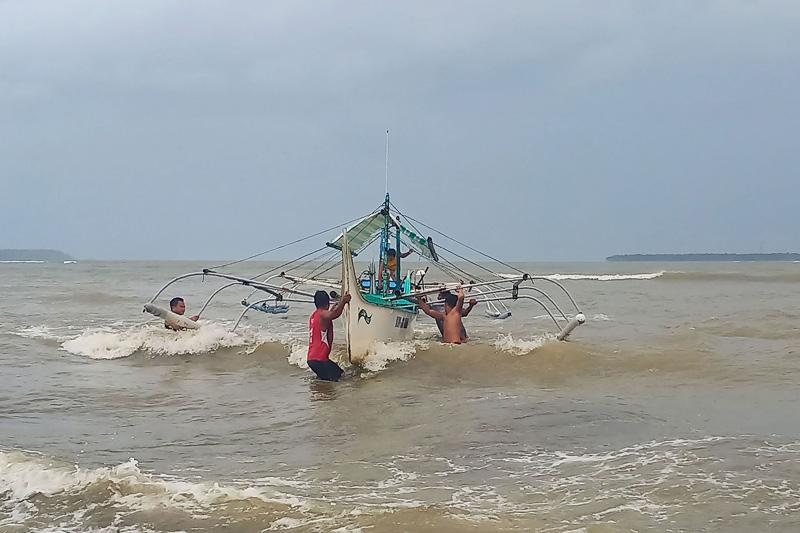 """""""北冕""""强台风将登陆菲律宾"""