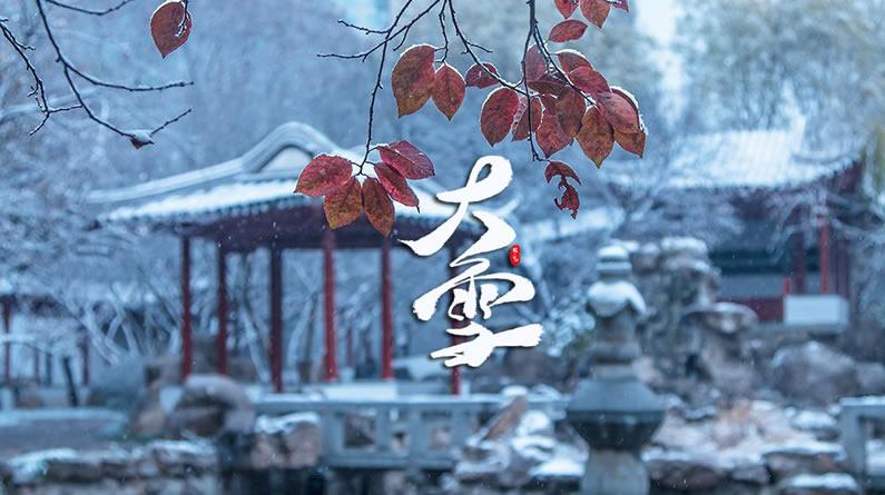 今日大雪|大雪纷飞时 愿你仍有温暖如期而至