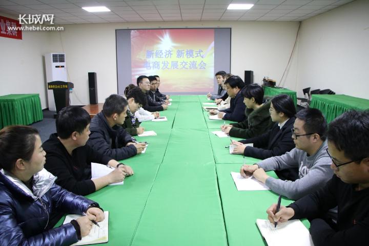 新经济新模式 武邑县开展电商发展交流会